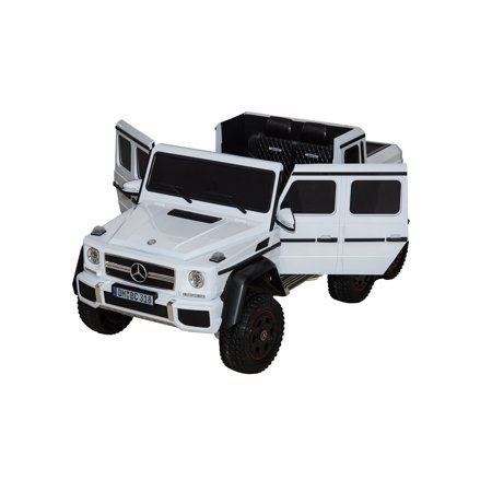 Kool Karz Mercedes Benz G63 AMG 6x6 12V Electric Ride On Toy Car, (Mercedes G63 Amg 6x6 Price In Usa)