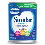 Similac Advance Baby Formula To Support Brain & Eyes, 12 Count Concentrated Liquid, 13-fl-oz Can