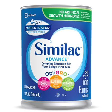 Similac Advance Infant Formula with Iron Baby Formula 13 fl oz Cans (Pack of 12)