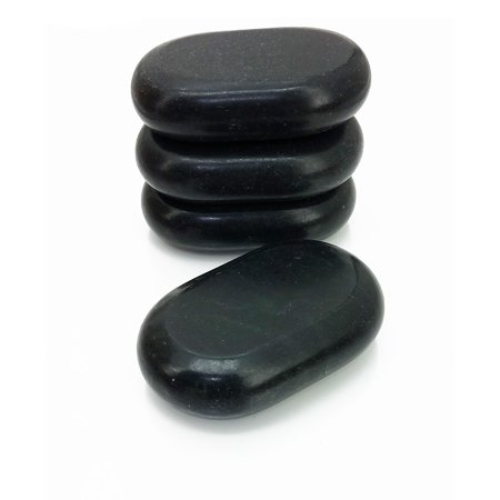 Royal Massage 4pc X-Large Basalt Hot Stone Set D