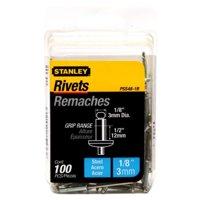 STANLEY PSS48-1B Rivet Tool,1/8 in. Round Head,PK100
