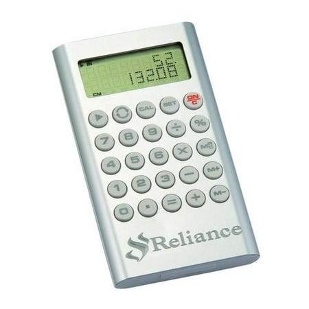 Calculator In Silver Matte Aluminum Finish