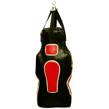 Amber MMA Training Torso Shaped Boxing Punching Filled Heavy Bag Chain with Swivel Filled Punching Bag