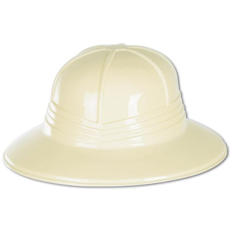 Club Pack of 48 Jungle Themed Sun Helmet Costume Accessories for $<!---->