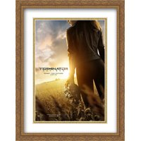 Terminator: Genisys 28x36 Double Matted Large Large Gold Ornate Framed Movie Poster Art Print