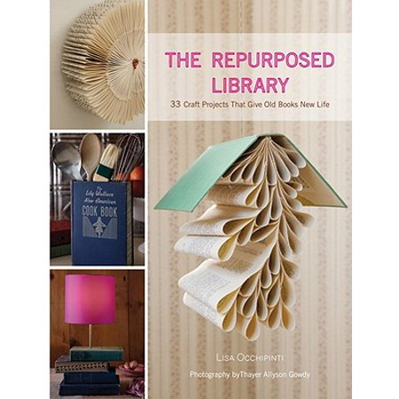 The Repurposed Library : 33 Craft Projects That Give Old Books New Life - Halloween Craft Projects