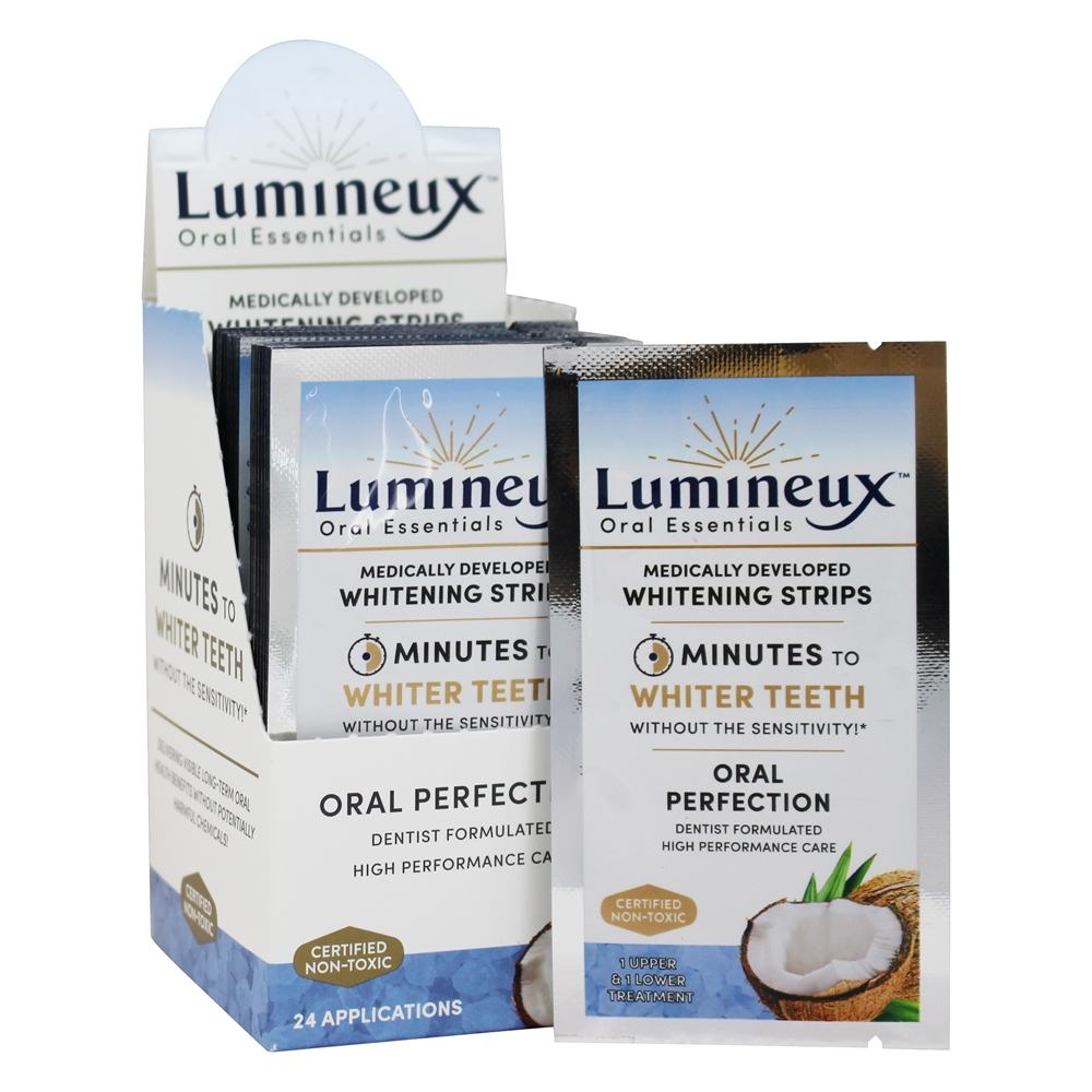 Lumineux Oral Essentials Medically Developed Whitening Strips