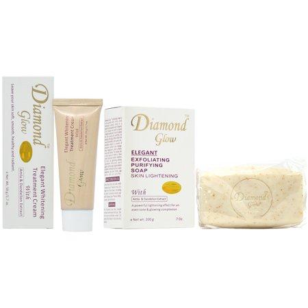 Diamond Glow Soap Combo-5 (Soap 7oz + Cream (Retro Diamond Snap)