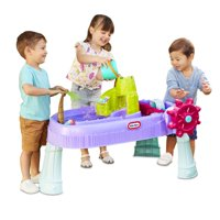 Little Tikes Mermaid Island Wavemaker Water Table with Five Unique Play Stations and Accessories