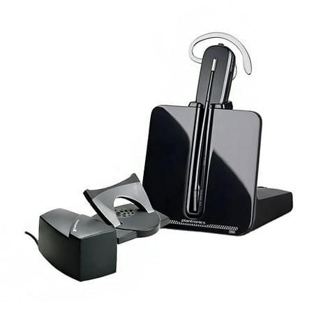 Refurbished Plantronics 84693-01 CS540 Noise-Canceling Wireless Headset w/ HL-10 Remote Handset Lifter