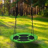 Detachable Swing Sets for Kids Playground Platform Saucer Swing Rope 1M 40'' Diameter