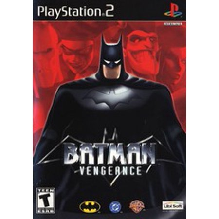 Batman Begins Ps2 (Batman Vengeance - PS2 Playstation 2)