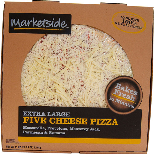 Marketside Extra Large Five Cheese Pizza, 41 oz