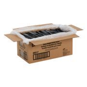 """Dixie® 7.5"""" Heavy-Weight Disposable Plastic Knife, Tableware Knives, KH517, Black, 1,000 Knives per Case"""