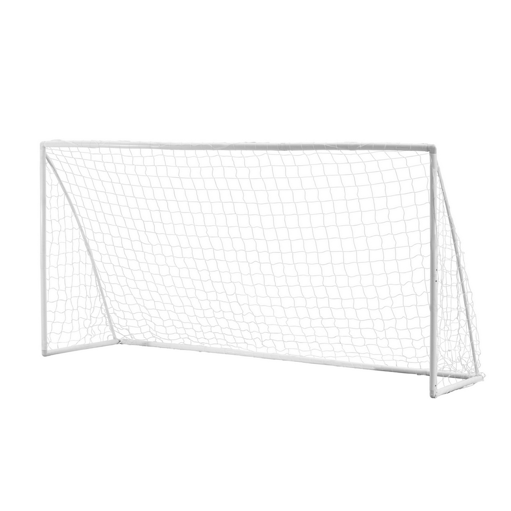 Woodworm 12' x 6' Portable Plastic Soccer Goal inc. Net by
