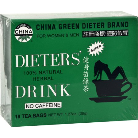 Dieters Tea Bags (Uncle Lee's China Green Dieters Tea Dieter's Drink - 18 Tea Bags)