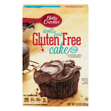 Betty Crocker Gluten Free Devil's Food Cake Mix, 15 oz
