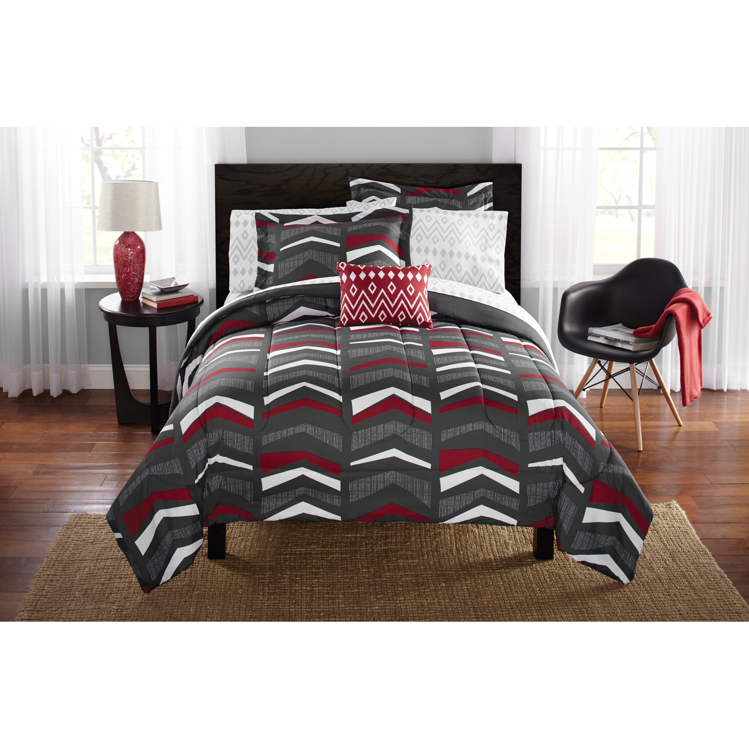 Mainstays Tribal Bed in a Bag Comforter Set
