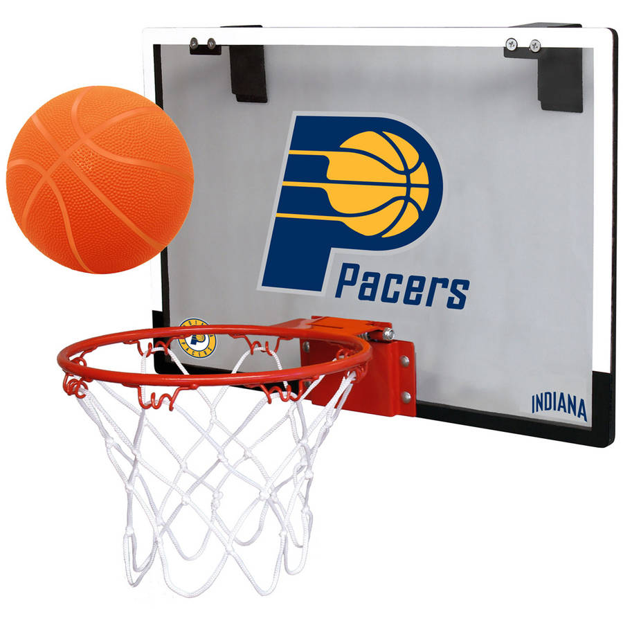 Rawlings NBA Game On Polycarb Hoop Set Indiana Pacers