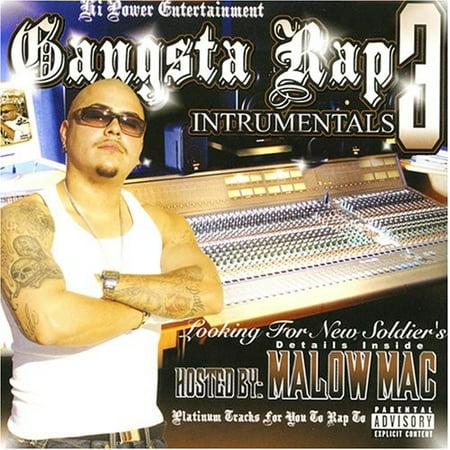 Gangsta Rap Instrumentals, Vol. 3 (CD) (explicit) (Underground Hip Hop Instrumentals)