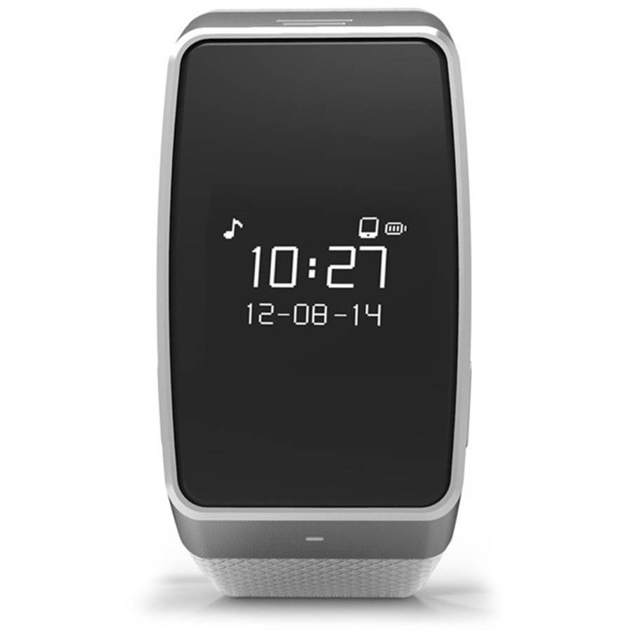 MyKRONOZ ZeWatch3 Smartwatch with Activity Tracker, White