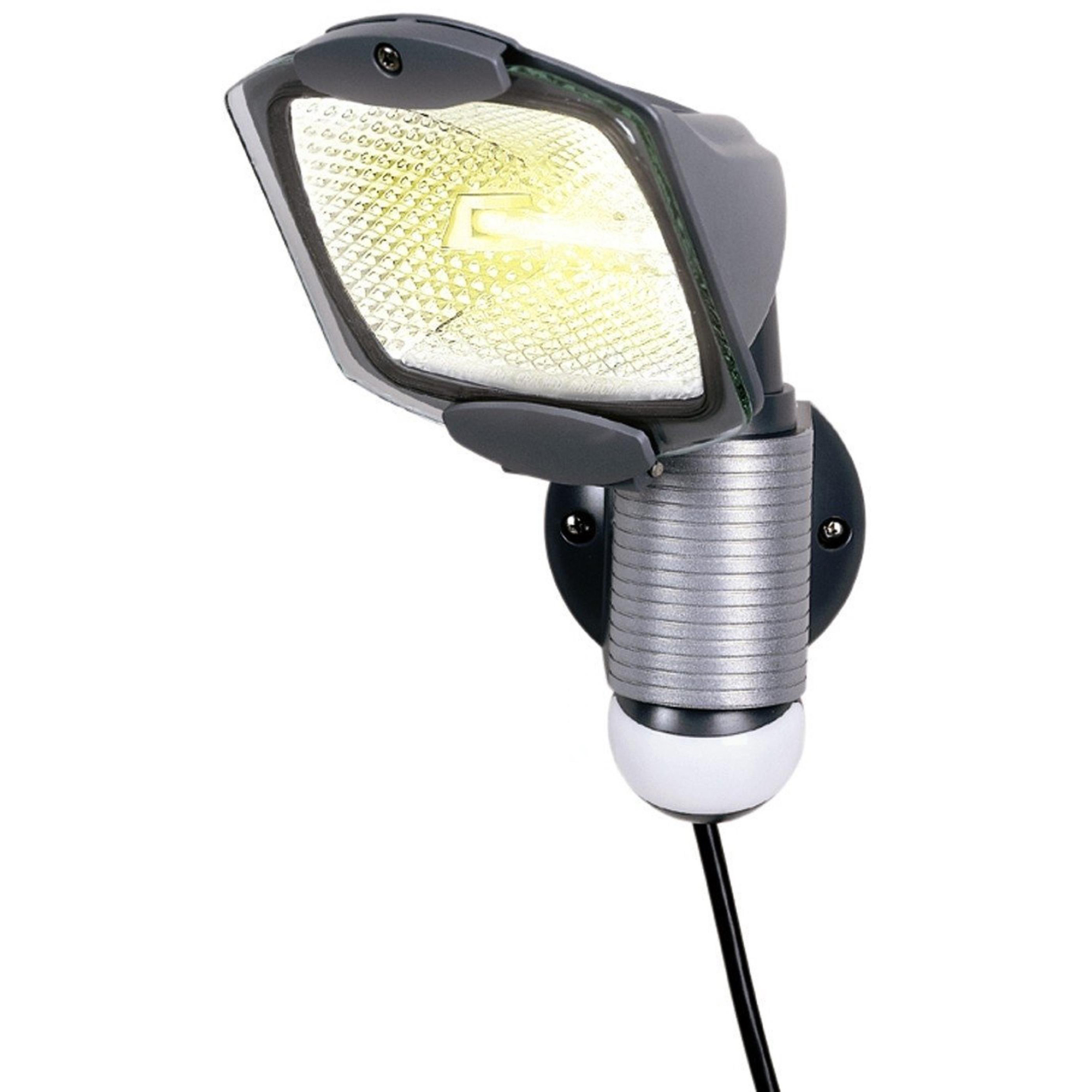 Cooper Lighting/Regent Light 100W Plug-In Motion-Activated Floodlight - Walmart.com  sc 1 st  Walmart & Cooper Lighting/Regent Light 100W Plug-In Motion-Activated ... azcodes.com