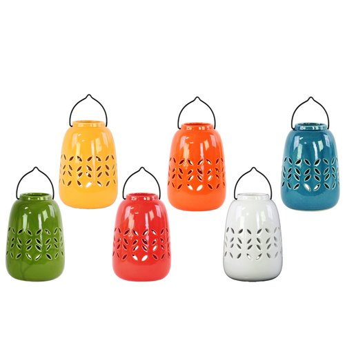 Urban Trends Ceramic Lantern (Set of 6)