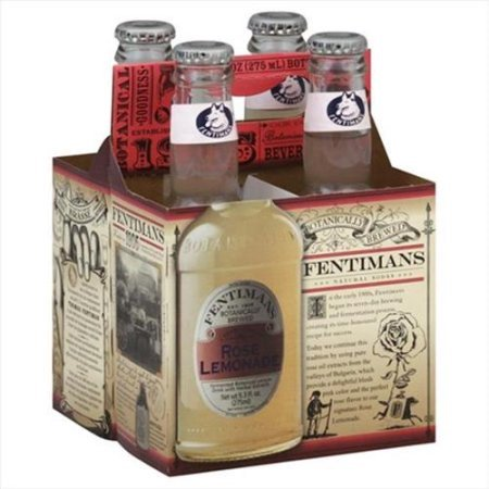 Fentimans Rose Lemonade, 9.3 Fl. Oz., 4 Count