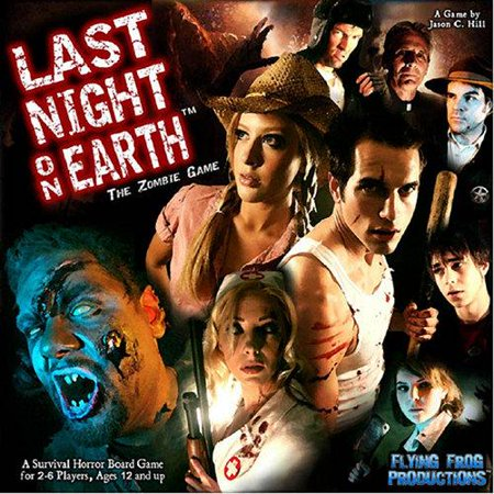 Last Night on Earth, The Zombie - Zombie Party Games