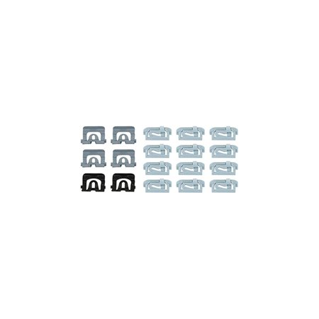 Eckler's Premier  Products 55195354 El Camino Rear Window Molding Clip Kit