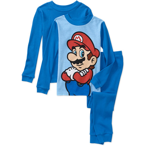 Nintendo - Boys' Super Mario 3 Piece The