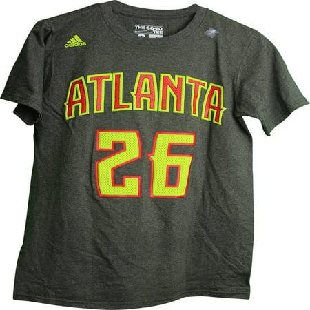 Nba Atlanta Hawks Kyle Korver  26 Name And Number 2 Sided Adult T Shirt  Xx Large