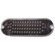 ECCO SLWIC35A Warning Light, LED, Amber, Surface, Rect, 5 L G4834557