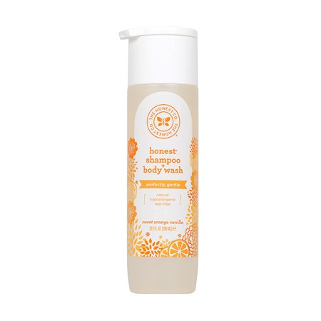 Honest Company Baby Shampoo & Body Wash, Sweet Orange Vanilla, 10 Fl Oz