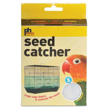 Prevue Pet Bird Cage Mesh Seed Catcher - White - Small - 820W