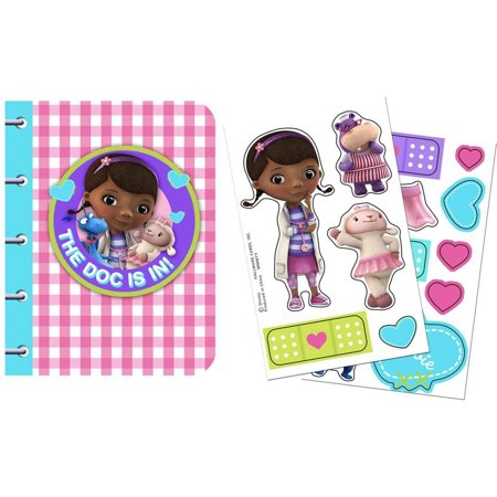 Disney Junior Doc McStuffins Sticker Notebooks (4)](Doc Mcstuffins Invitation)