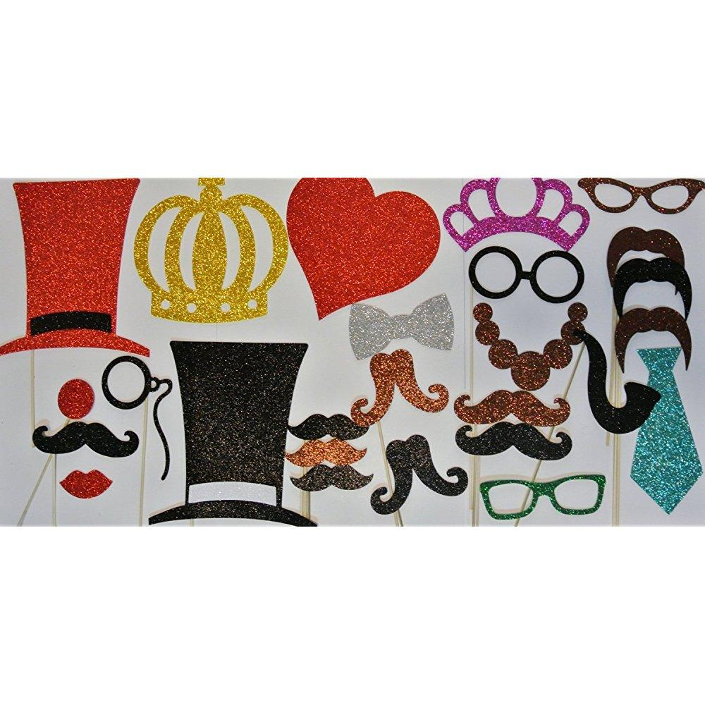 photo booth props mustache on a stick wedding photo booth props valentines day