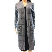 Halogen NEW Gray Women's Large L Button Down Oversized Cardigan Sweater