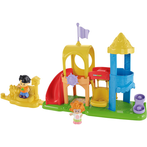Little People Neighborhood Playground Playset