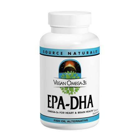 Vegan Omega-3 EPA-DHA Source Naturals, Inc. 30 - Vegan Dha