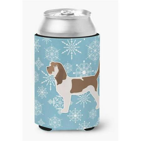 Winter Snowflake Grand Basset Griffon Vendeen Can or Bottle Hugger - image 1 de 1