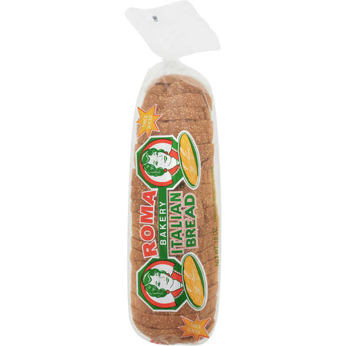 Roma Bakery Italian Thick Sliced Seeded Bread, 18 oz
