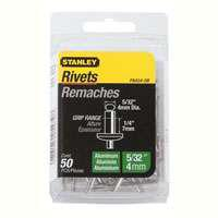 Stanley PAA54-5B Reusable Pop Rivet, 5/32 in Dia x 1-3/4 in L, Aluminum