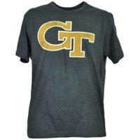 NCAA Georgia Tech Yellow Jackets Charcoal Tshirt Tee Mens Adult Short Sleeve XL