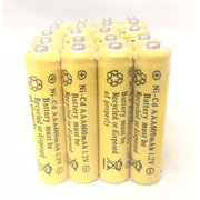 20 pcs Rechargeable NiCd AAA 600mAh Ni-Cad Batteries for Solar-Powered Light B20