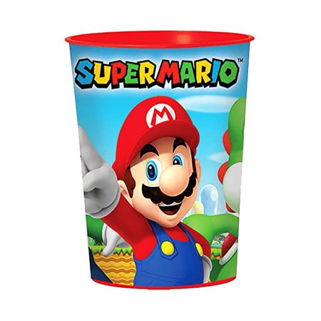 Super Mario 16 oz Favor Cup (each) - Party Supplies](Super Mario Party Decorations)