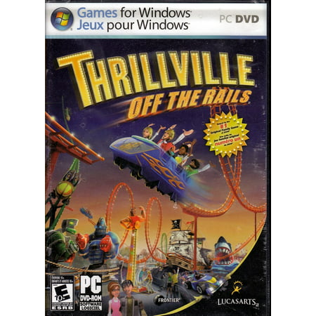 Thrillville Off the Rails (PC Game) Play in the Best Theme Park (The Best Gaming Pc Ever)