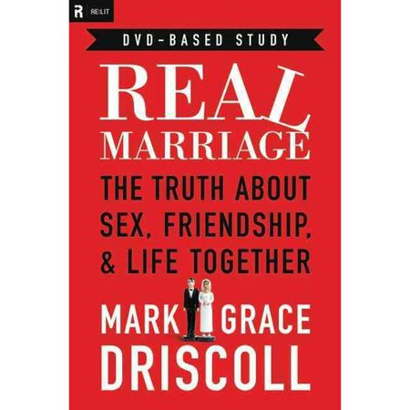 Marriage DVD-Based Study Pastor Mark Driscoll and his wife, Grace, talk about sex and marriage in down-to-earth terms, hitting issues other Christian books won't. While a wonderful wedding day is important, it's the last day of marriage that really counts. Will the last day of your marriage come prematurely through divorce? Will it be filled with regrets as you sit at the funeral of your spouse? Or, by God's grace, will the last day be a day to rejoice in the life you lived together? Pastor Mark Driscoll and his wife, Grace, want you to finish well on the last day. In this interactive DVD-based study, couples will reflect on Scripture, the trade book, and video conversation starters. Through the homework and group sessions, couples will tackle the tough issues, such as: Should I confess my pre-marital sexual sin to my husband/wife?Is it okay to have a  work husband/wife ?Can I say no to my husband when I really do have a headache?What does the Bible say about masturbation and oral sex? From fun date night tips to the most tricky  can we do that?  sex questions, Mark and Grace share practical help and hope with people just like them-who entered marriage a complete mess-or who are planning to be married someday and want to avoid some sticky pitfalls.