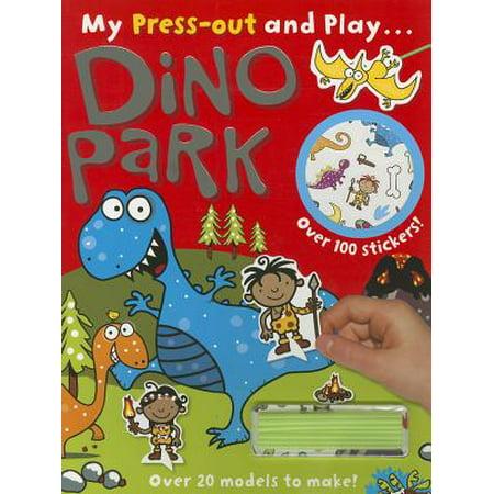 Dino Park (My Press-out and Play...)](Dinosaur Snack Ideas)