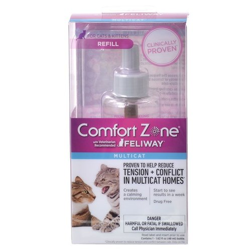 Comfort Zone with Feliway Multicat Refill 30-Day Refill (48 Milliliter)